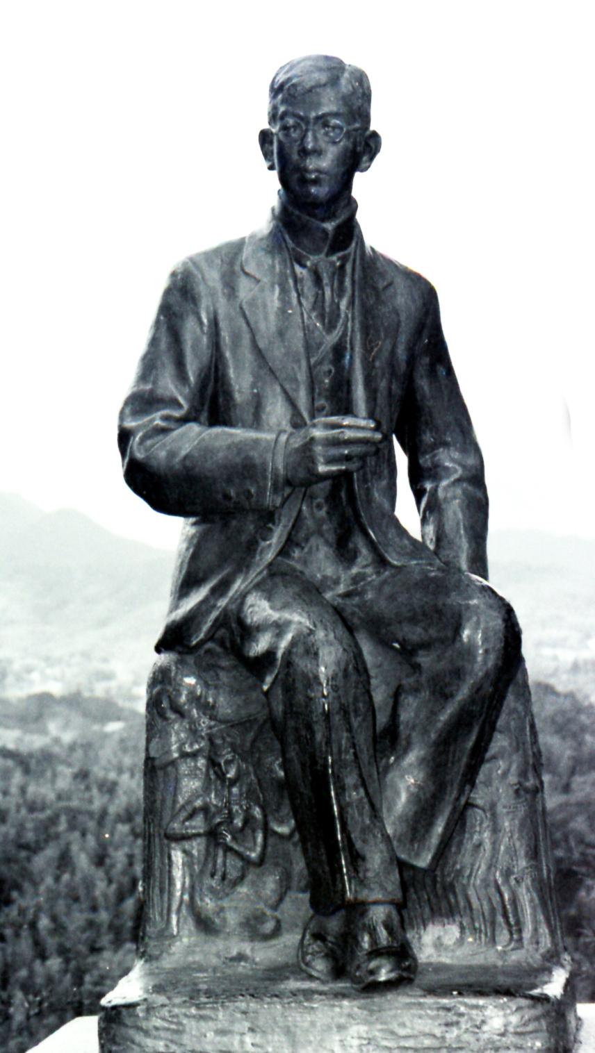 滝廉太郎銅像 - 大分県ホームペ...